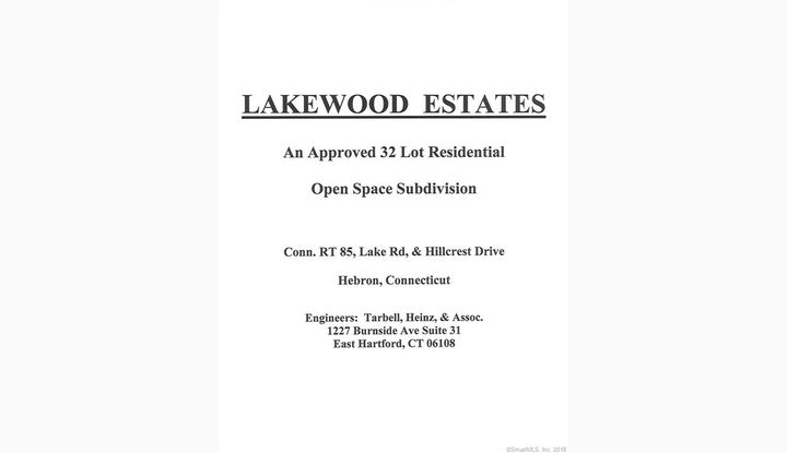 0 Hillcrest Dr- Lakewood Estates Hebron, CT 06248 - Image 1